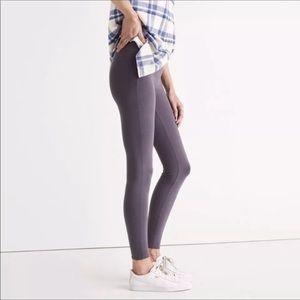 Madewell Gray skinny knit leggings